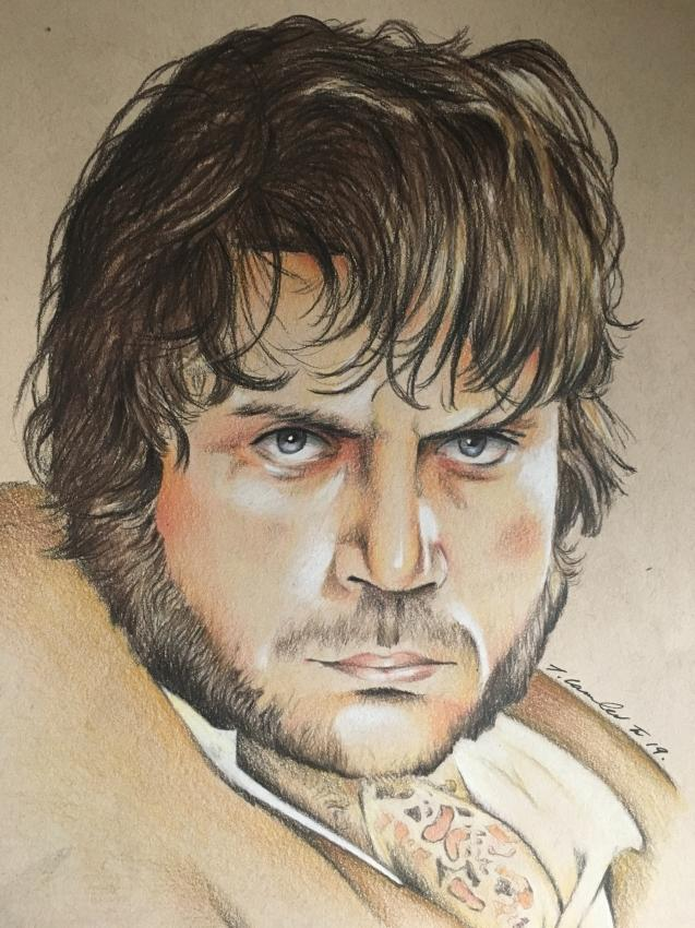 Oliver Reed by TraceyLawler
